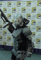 Great Future Soldier costume at San Diego Comic-Con 2013.