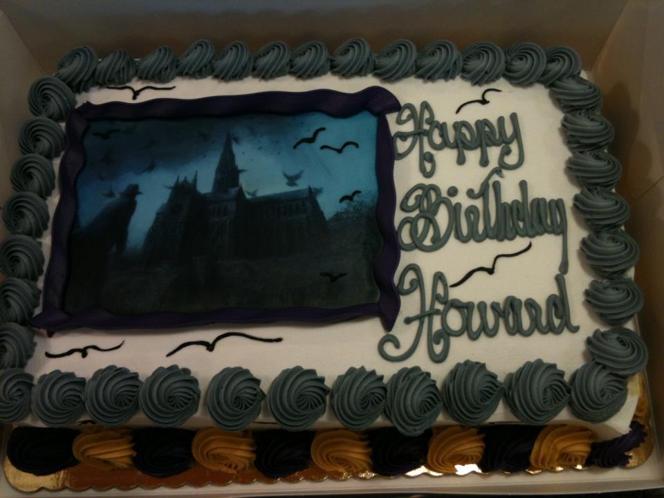HP Lovecraft Cake