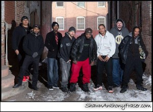 Left to right: Rick Spades, Lex_Supa, Chronos, Nahbi Reality, Danjah, Paper Boy, K-Vinyl, Funky M.I.S.F.I.T