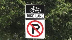 SRTS bike sign