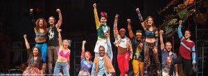 The cast of the Rent 20th Anniversary Tour at PPAC.