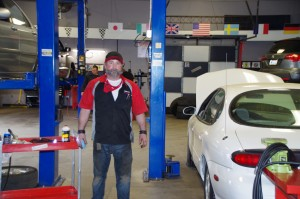 Ron Long, owner of Gearhead Systems, in his service bay. (Photo: Michael Bilow)