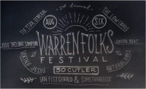 2nd Annual Warren Folk's Festival at 30 Cutler Street.