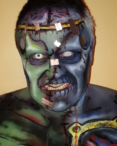 Ray Zombie as Frankenstein's Monster (Photo: Ray Zombie)