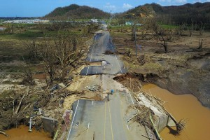 Don't forget about Puerto Rico - it's been over a month since Hurricane Maria struck, and over one million people are still without power, water and food.