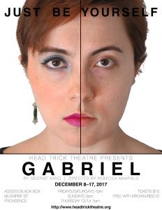 Gabriel at Head Trick Theatre