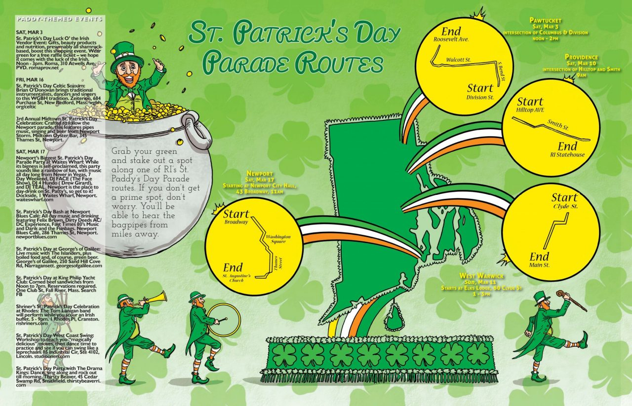 St  Patrick's Day Parade Routes › Providence, Rhode Island › Motif