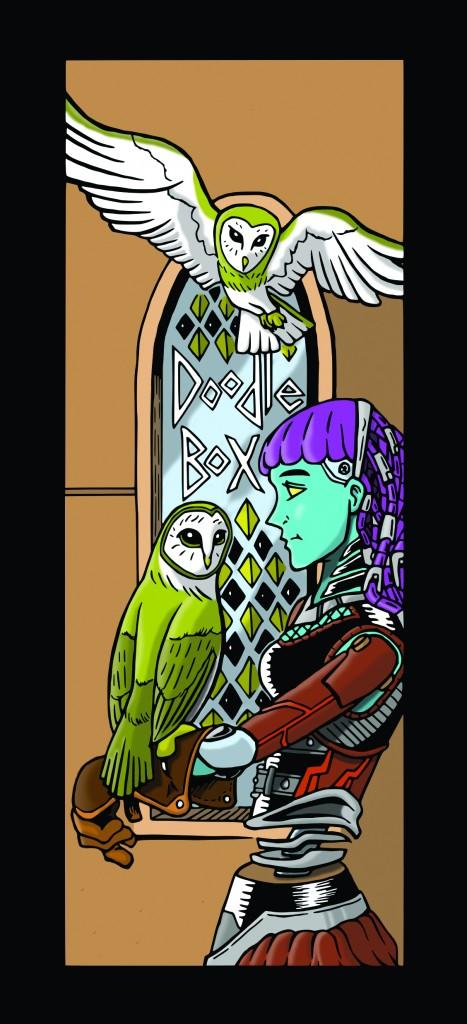 Doodle Box 6_18 cybernatic owl trainer