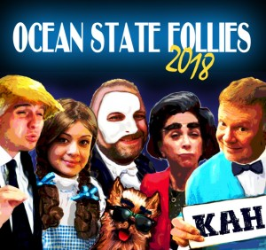 Charlie Hall's Ocean State Follies 2018