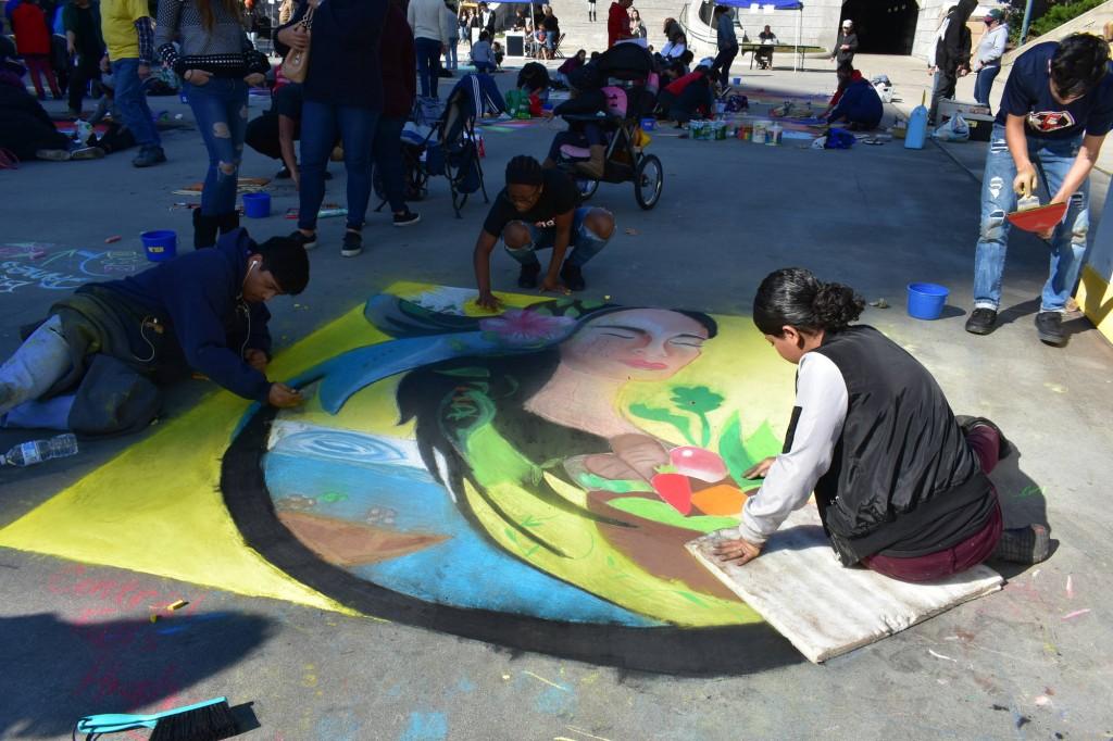 Providence Street Art Festival (Oct 20, 2018) (Photo: Cristina Berrios)