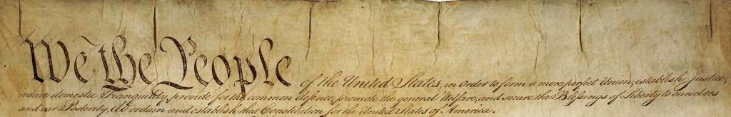 US Constitution - Preamble