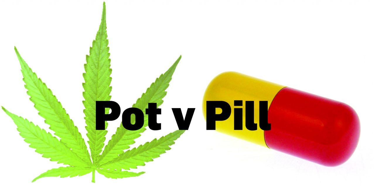 Opinion: Showdown on the Horizon: Big pharma v pot is coming