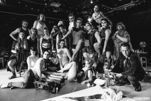 The Rocky Horror Show at OutLoud: The cast in costume. (Credit: Piquant Photo)